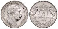2 KORUNA 1912 KB FRANTIŠEK JOSEF I.