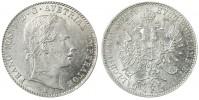 1/4 ZLATNÍK FRANT. JOSEF I. 1858