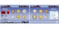 Sada oběžných mincí ALBÁNIE
