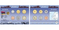 Sada oběžných mincí ARMÉNIE