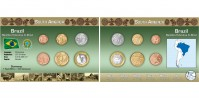 Sada oběžných mincí BRAZÍLIE I.