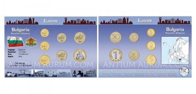 Sada oběžných mincí BULHARSKO