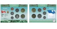 Sada oběžných mincí KANADA