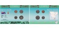 Sada oběžných mincí KAJMANSKÉ OSTROVY