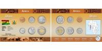 Sada oběžných mincí GHANA
