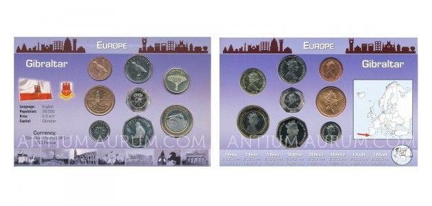 Sada oběžných mincí GIBRALTAR