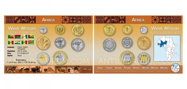 Sada oběžných mincí HOSPODÁŘSKÉ SPOLEČENSTVÍ ZÁPADOAFRICKÝCH STÁTŮ (ECOWAS)