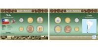 Sada oběžných mincí CHILE I.