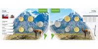 Sada oběžných mincí CHILE II.