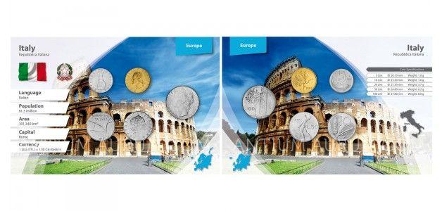Sada oběžných mincí ITÁLIE II