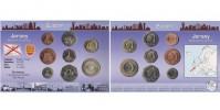 Sada oběžných mincí JERSEY