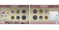 Sada oběžných mincí JIŽNÍ KOREA