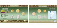 Sada oběžných mincí KOLUMBIE