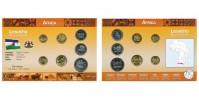 Sada oběžných mincí LESOTHO I.