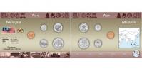 Sada oběžných mincí MALAJSIE