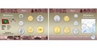 Sada oběžných mincí MALEDIVY