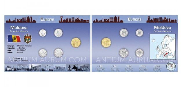 Sada oběžných mincí MOLDAVSKO
