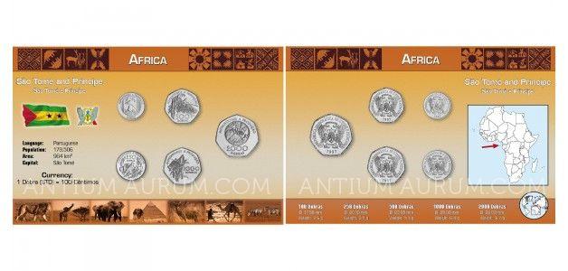 Sada oběžných mincí OSTROV SVATÝ TOMÁŠ A PRINCŮV OSTROV