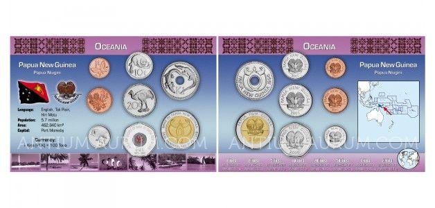 Sada oběžných mincí PAPUA-NOVÁ GUINEA I.
