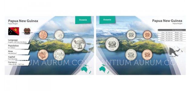 Sada oběžných mincí PAPUA-NOVÁ GUINEA II.