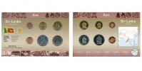 Sada oběžných mincí SRÍ LANKA