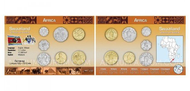 Sada oběžných mincí SVAZIJSKO