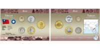 Sada oběžných mincí TCHAJ-WAN
