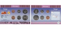 Sada oběžných mincí TONGA
