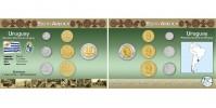 Sada oběžných mincí URUGUAY