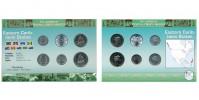 Sada oběžných mincí VÝCHODOKARIBSKÉ STÁTY