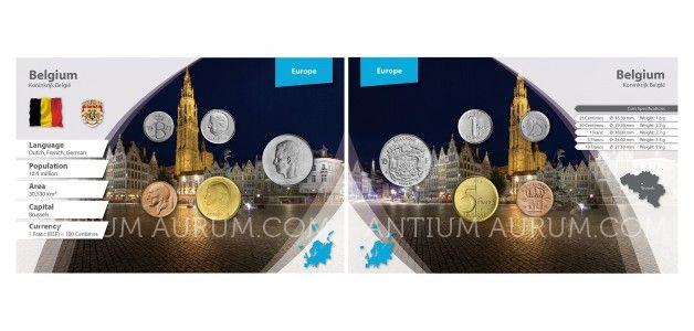 Sada oběžných mincí BELGIE II.