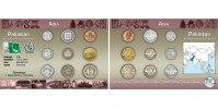 Sada oběžných mincí PAKISTAN