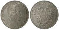 2 TOLAR 1866A FRANTIŠEK JOSEF I.