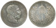 1 KORUNA 1894 FRANTIŠEK JOSEF I. (1848 - 1916)