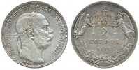 2 KORUNA 1914 KB FRANTIŠEK JOSEF I. (1848 - 1916)