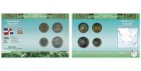 Sada oběžných mincí DOMINIKÁNSKÁ REPUBLIKA (DOMINICAN REPUBLIC)