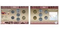 Sada oběžných mincí NÁHORNÍ KARABACH (NAGORNO-KARABAKH)