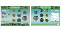Sada oběžných mincí Republika SALVADOR (REPÚBLICA DE EL SALVADOR)