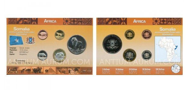 Sada oběžných mincí SOMÁLSKO (SOMALIA)