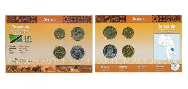 Sada oběžných mincí TANZÁNIE (TANZANIA)