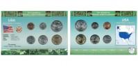 Sada oběžných mincí USA (UNITED STATES OF AMERICA)