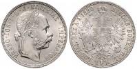 1 ZLATNÍK 1880 FRANTIŠEK JOSEF I. (1848 - 1916)