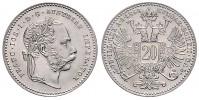 1 ZLATNÍK 1868 FRANTIŠEK JOSEF I.