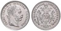 10 KREUZER 1868 FRANTIŠEK JOSEF I.