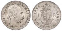1 ZLATNÍK 1888 KB FRANTIŠEK JOSEF I.
